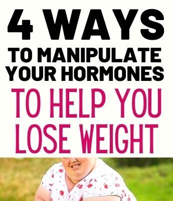 4 Ways To Manipulate Your Hormones To Help You Lose Weight