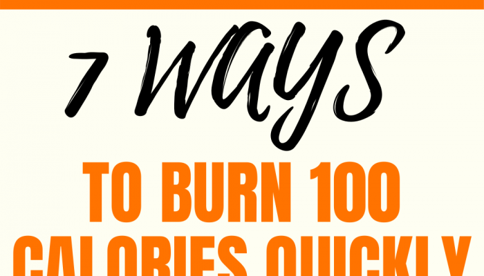 7 Ways To Burn 100 Calories Quickly