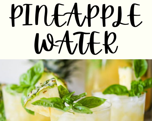 Pineapple Water Will Detox Your Liver. Help You Lose Weight .. Reduce Joint Swelling And Pain